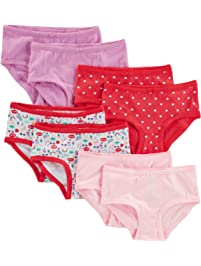 f7f1fcf6308 Simple Joys by Carter s Little Kid and Toddler Girls  8-Pack Underwear