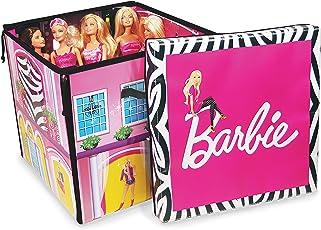 Neat-Oh Barbie ZipBin 40 Doll Dream House Toy Box & Playmat