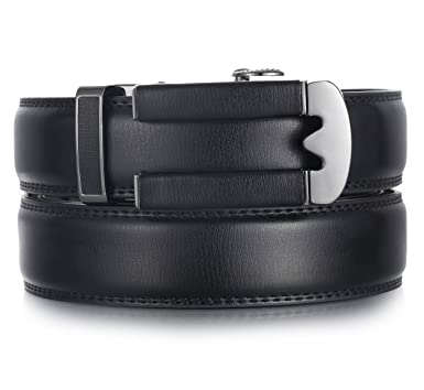 Marino Ratchet Click Belts For Men Mens Comfort Genuine Leather