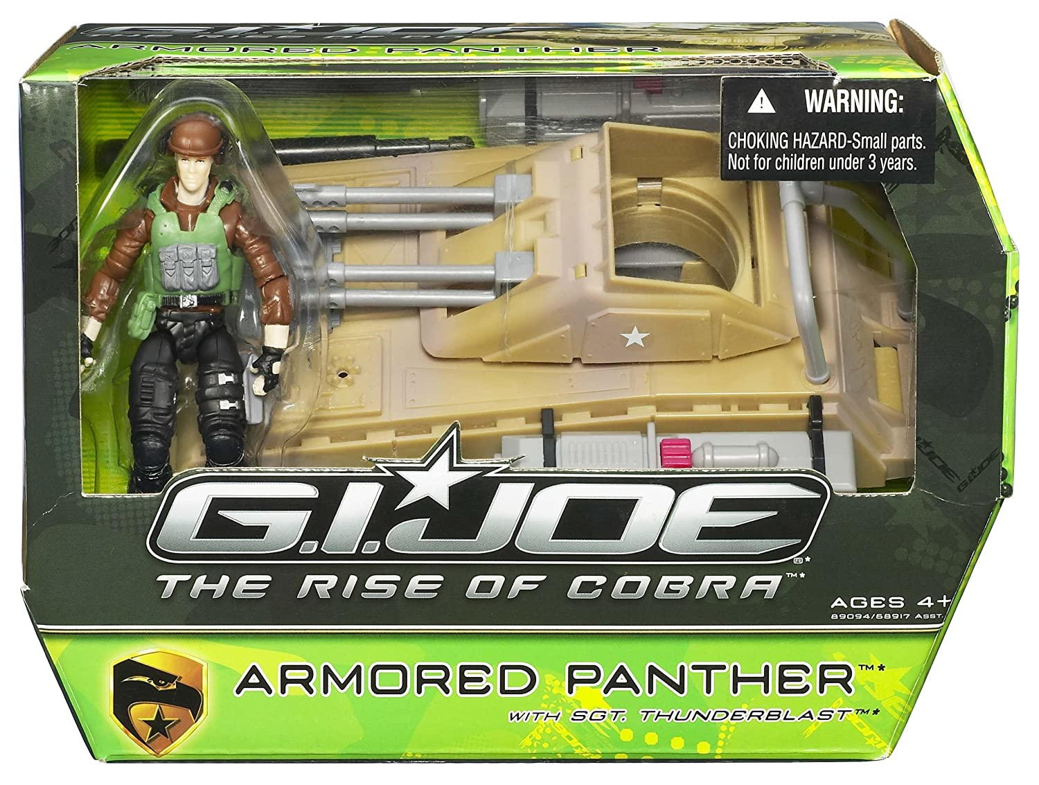 Amazon.com: G.I. Joe the Rise of Cobra Vehículo Armored ...