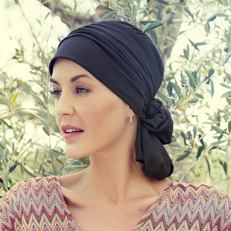 Christine headwear Turbante in Cotone Supima Extra Morbido di Alta qualit/à