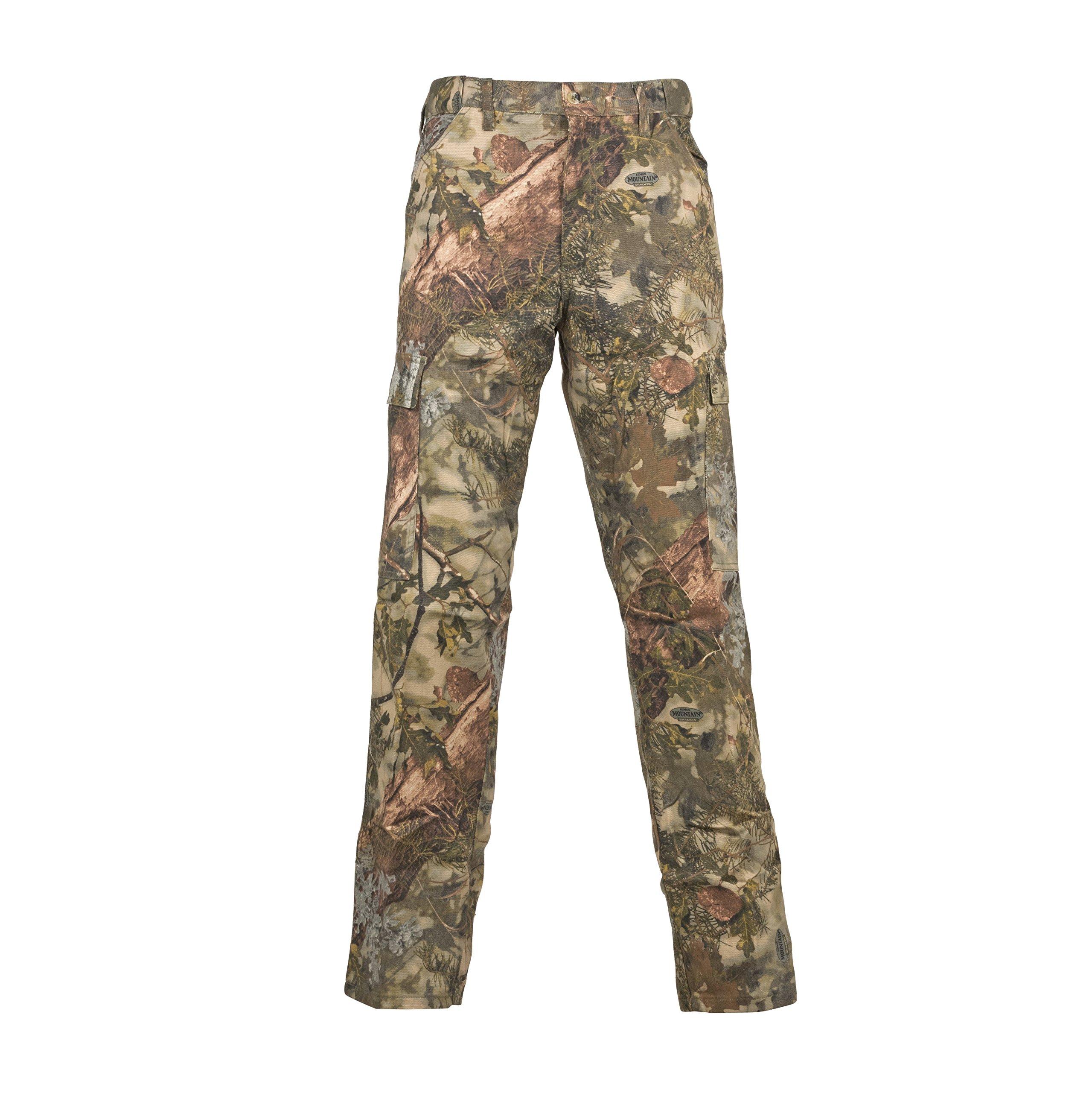Hunting Camo Cotton Six Pocket Pants King's rxBdoeWC