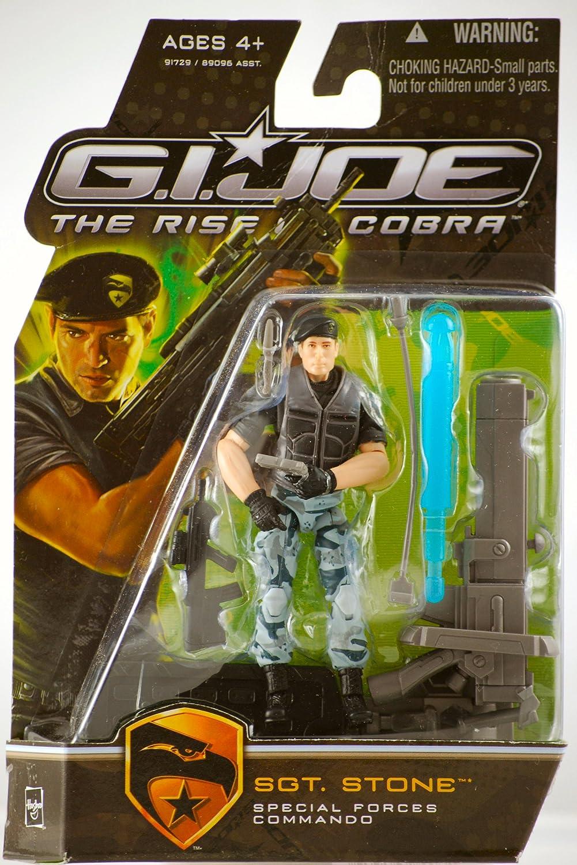 los clientes primero G.I. Joe The Rise of Cobra Cobra Cobra 3 3 4  Acción Figura Sgt. Stone (Special Forces Commando)  comprar ahora