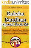 Raksha Bandhan Festival Special Book Kit: Inspiring Stories, Quotes, Poems, Gift ideas, and more about a great festival of lovingly Brother-Sister relationship celebration