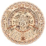 Wood Trick Mayan Wall Calendar Wooden Mechanical