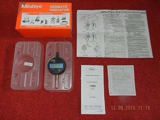 Mitutoyo Absolute ID de S 1085 Digital Reloj comparador 543 681b de 70: Amazon.es: Bricolaje y herramientas