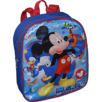 """Junior Mickey And The Roadster Racers 12"""" Backpack 