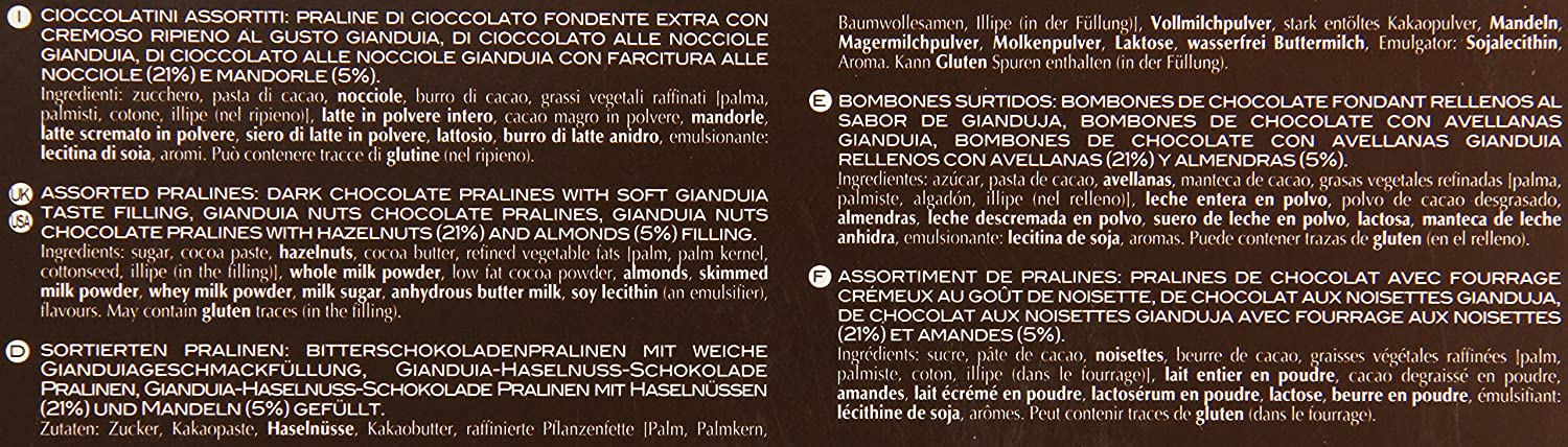 Amazon.com : Pernigotti Dark Chocolate Selection, Selezione Nerogianduia, 202 Gram : Chocolate Assortments And Samplers : Grocery & Gourmet Food
