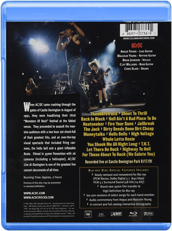 Live At Donington [Reino Unido] [Blu-ray]: Amazon.es: Ac/Dc: Cine ...