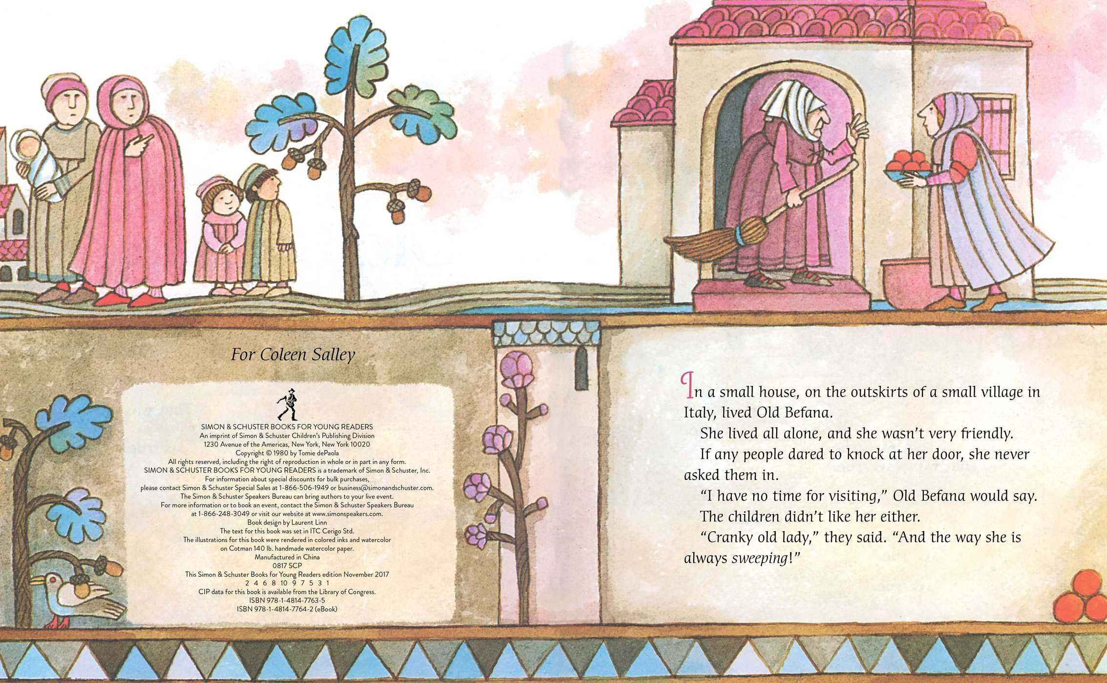 The Legend of Old Befana: An Italian Christmas Story by Simon & Schuster Books for Young Readers (Image #2)