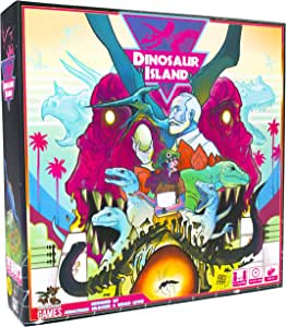 Pandasaurus Games Dinosaur Island - English: Amazon.es: Juguetes y juegos