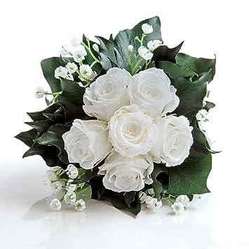 Blumenstrauss Mit Exklusiven Konservierten Langhaltenden Rosen