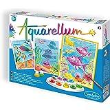 Sentosphere 3906060 Aquarellum - Set para colorear arrecifes de coral