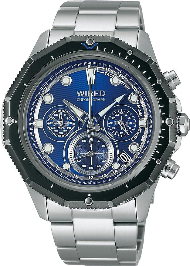 [セイコーウォッチ] 腕時計 ワイアード The Bule-Marine クオーツ AGAW416 シルバー