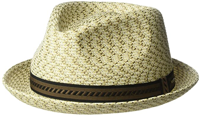 5e681653f36610 Bailey of Hollywood Men's Mannes Braided Fedora Trilby Hat Neutral Multi,  ...