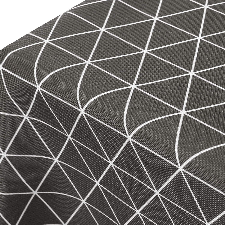 Mantel cuadrado, 170 x 170 cm, estampado 100% poliéster, color ...
