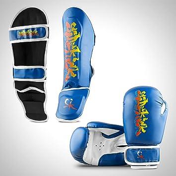 Sidekick niños Azul Kickboxing Equipo de Boxeo, niños Thai ...