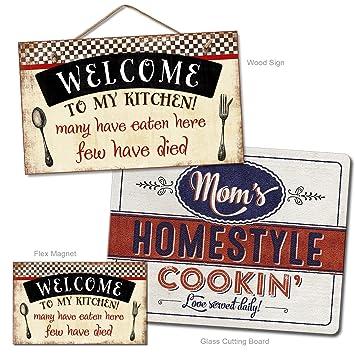 Amazon.com: Bienvenidos a mi cocina Home Decor Bundle Pack ...