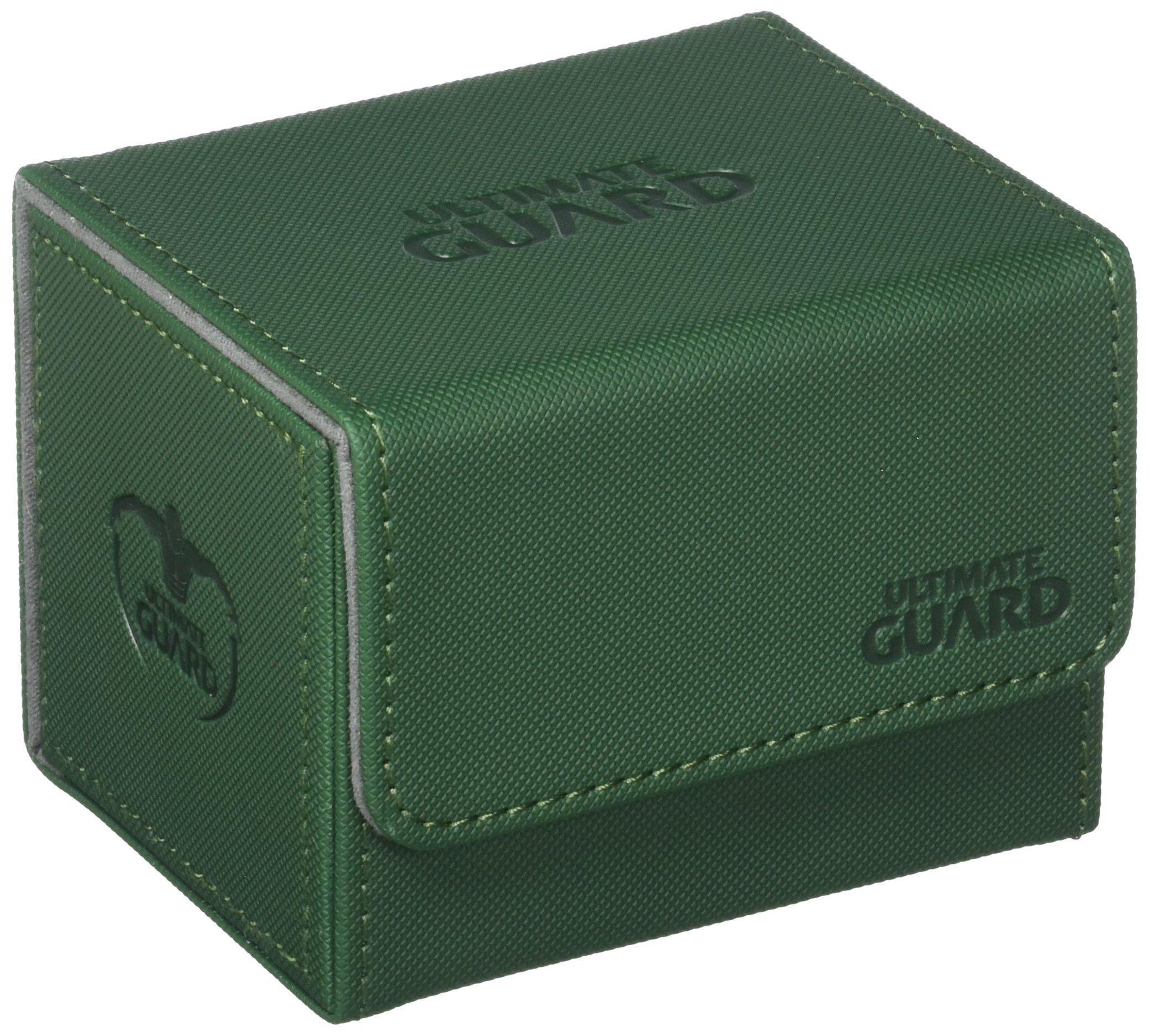 Ultimate Guard Sidewinder Deck Box 100+ XenoSkin Card Game, Green, Large