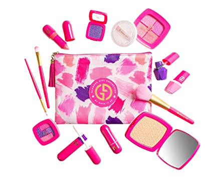 Make it Up, Glamour Girl Pretend Play Makeup Set for Children - Great for Little Girls & Kids (Not Real Makeup) [Toy] best toddler stocking stuffer