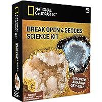 National Geographic Kit éducatif avec 4 géodes à ouvrir - NGGEO4
