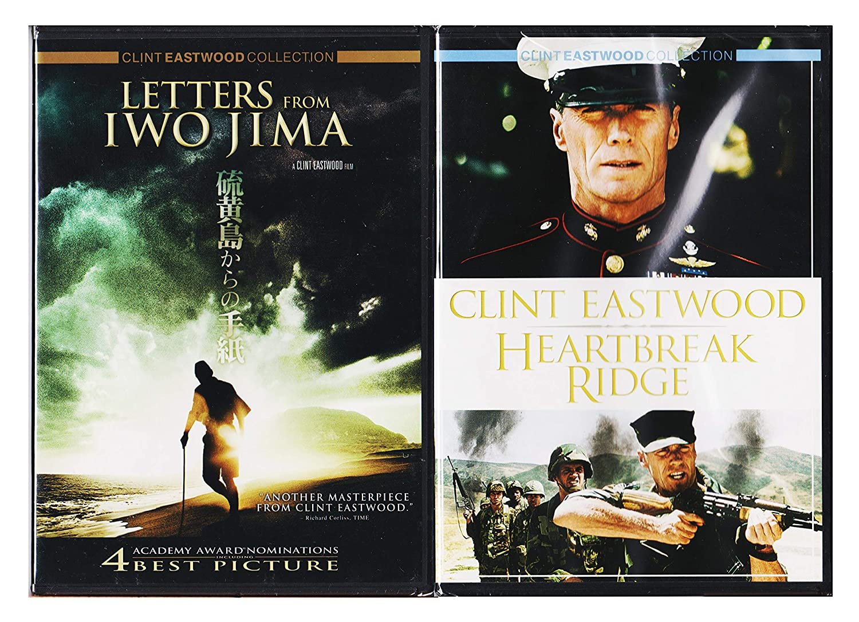Clint Eastwood Heartbreak Ridge & Letters from Iwo Jima Special ...