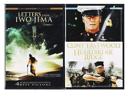 Clint Eastwood Heartbreak Ridge & Letters from Iwo Jima Special Edition 2 Disc DVD Pack Movie Set: Amazon.es: Cine y Series TV