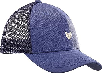 Salomon Gorra de malla para mujer, MANTRA LOGO CAP, Talla única ajustable, Azul