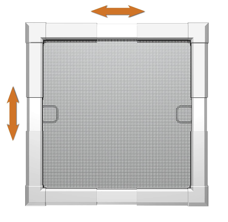 Windhager 03629/Cadre fen/être Flexi Fit 100/x 120/W blanc 100/x 120/cm