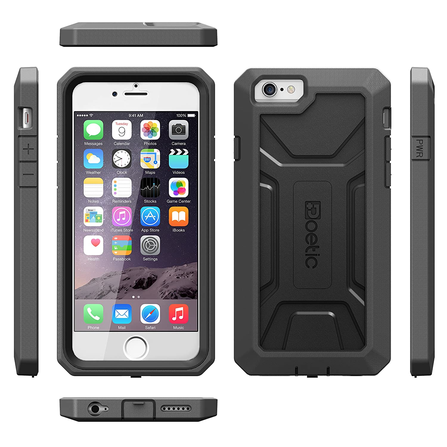 iphone 6 plus warranty iphone 6 plus poetic heavy duty dual layer complete 15050