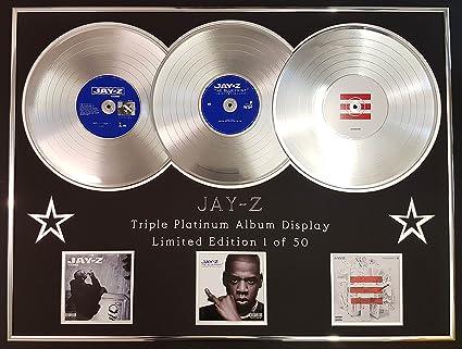 Amazon jay ztriple platinum album displayltd editionthe jay ztriple platinum album displayltd editionthe blueprint malvernweather Choice Image
