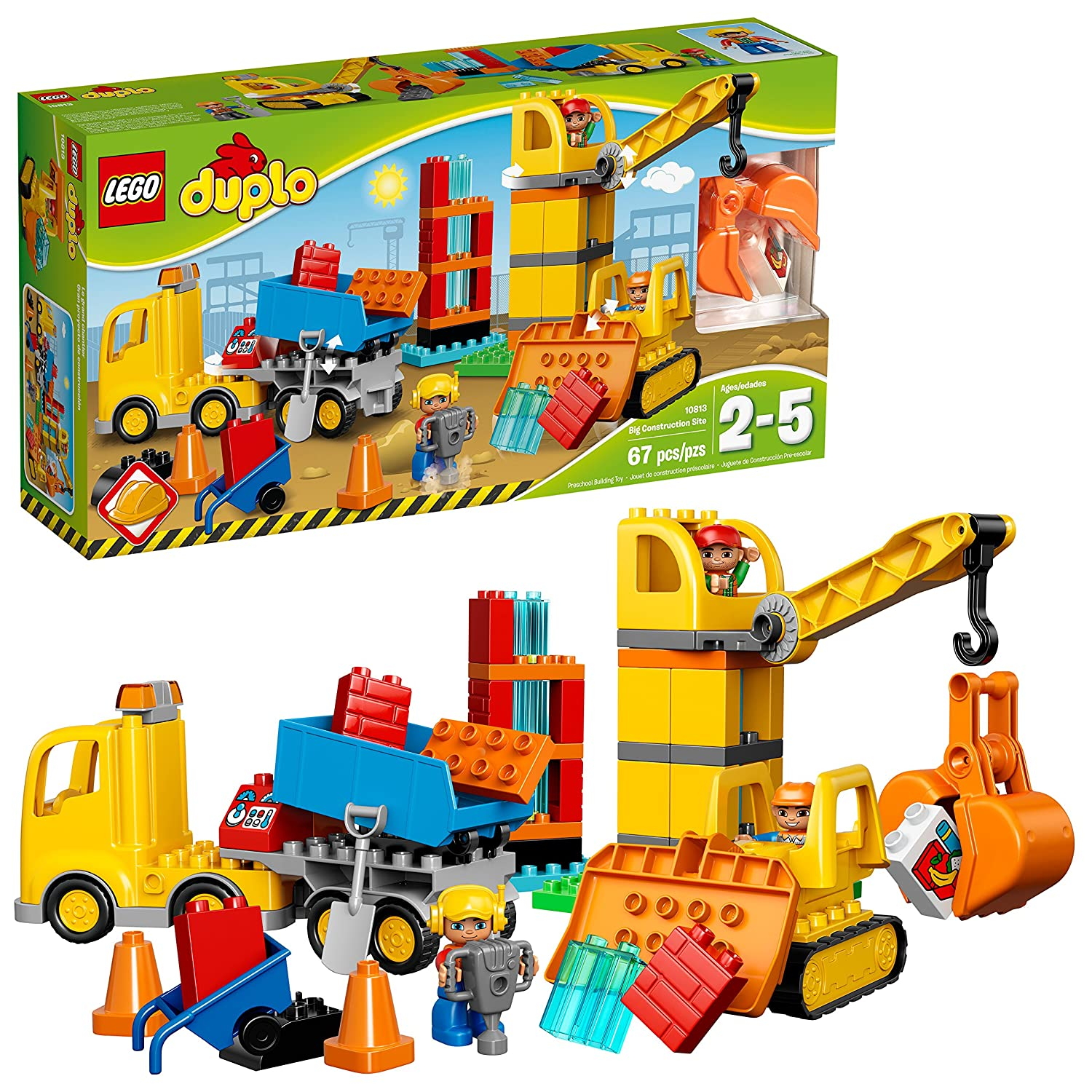 LEGO DUPLO Town Big Construction Site Best Toy 10813