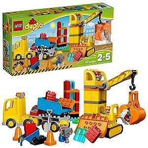 LEGO Duplo Town Big Construction Site Best Toy