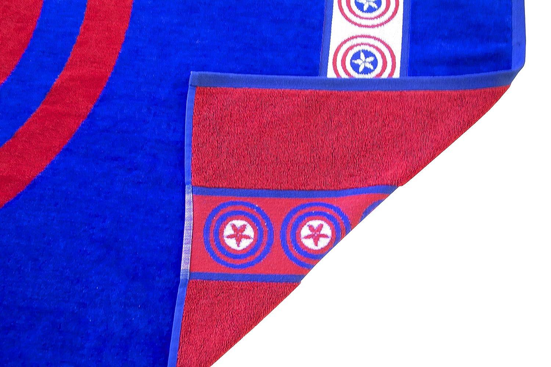 Marvel Heroes Escudo 100% algodón de Rizo Jacquard 34