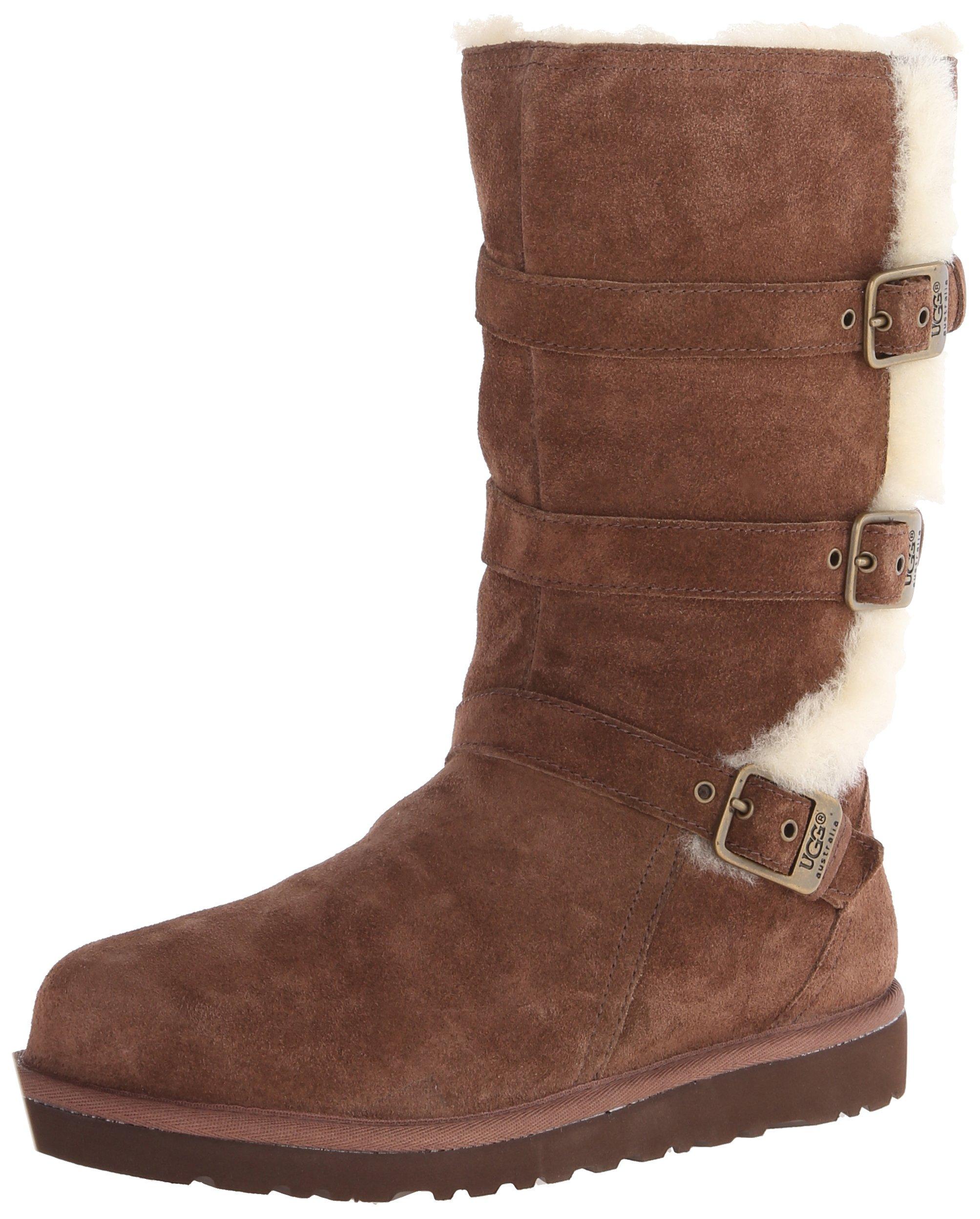 UGG Australia Girls Maddi Chocolate Western Boot - 5 by UGG (Image #6)