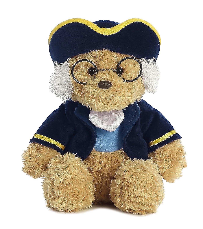 Aurora World Ben Franklin Colonial Bear Plush