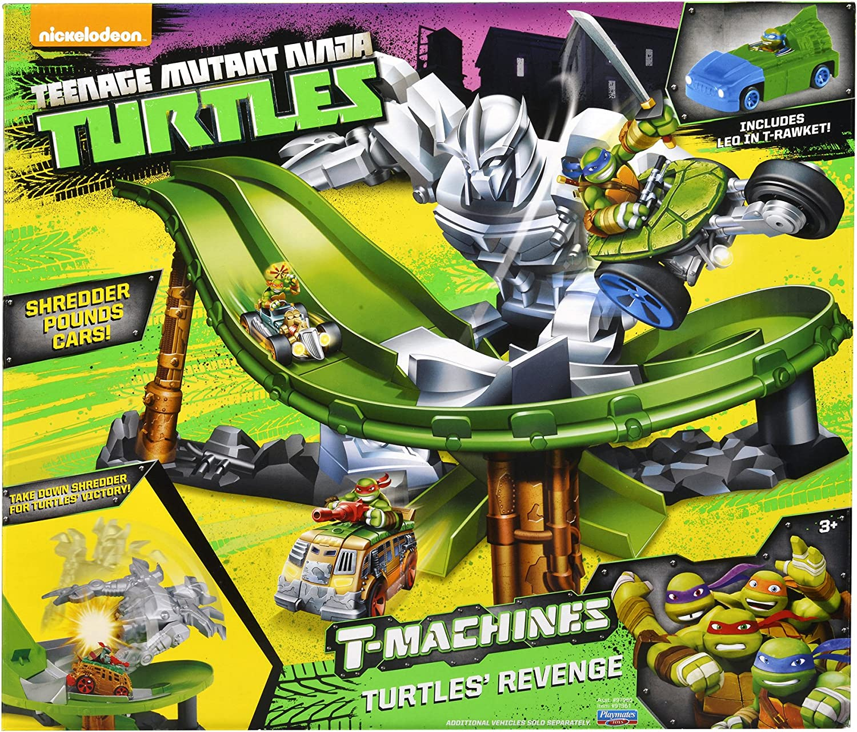 Teenage Mutant Ninja Turtles T-Machines Turtles Revenge Playset