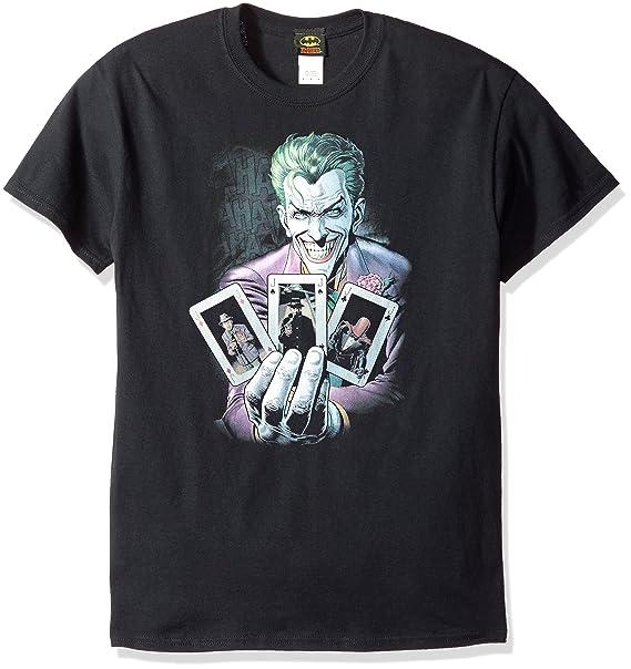 DC Comics Hombres de Batman Joker 3 de un tipo camiseta: Amazon.es: Ropa y accesorios