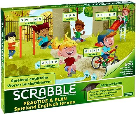 Amazon Com Scrabble Practice Play Spielend Englisch Lernen