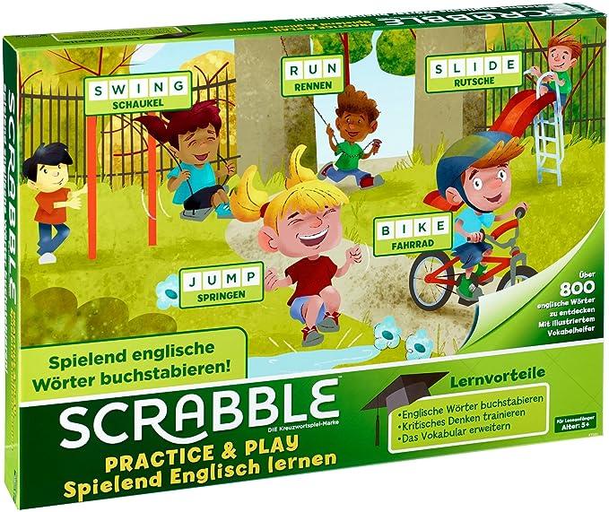 Amazon.com: Scrabble Practice & Play - Spielend Englisch ...
