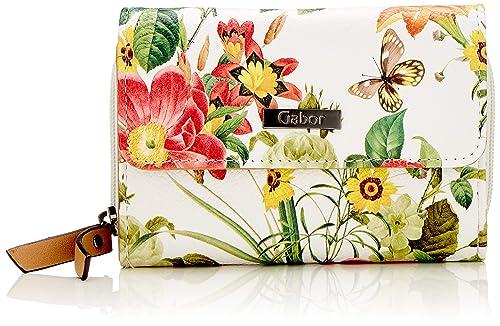 Gabor - Granada Bloom, Carteras Mujer, Blanco (Weiß ...