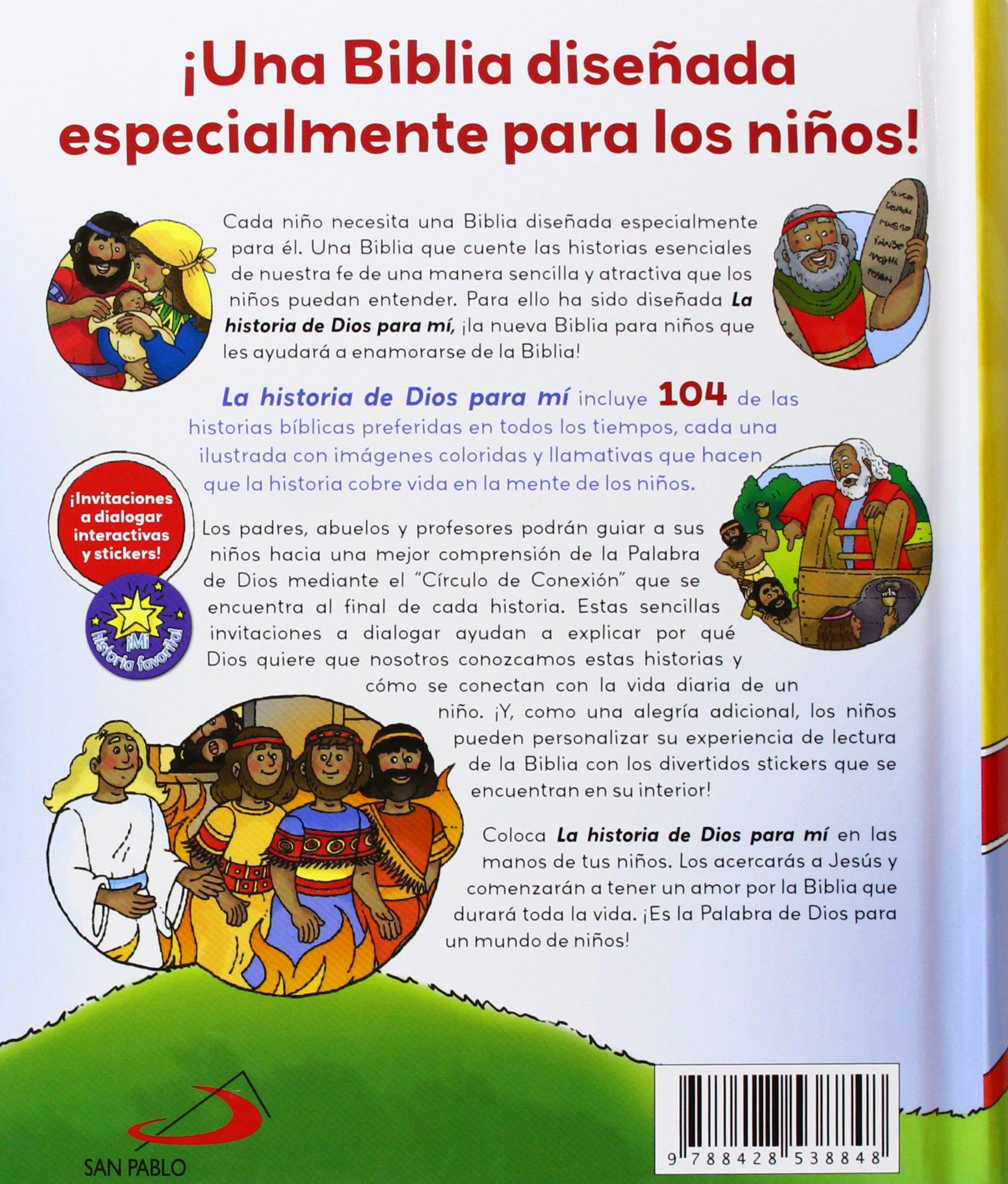 La Historia De Dios Para Mí (La Biblia y los niños): Amazon.es: Omar Asdrúbal León Carreño, Cheril Nobens, Andrés Leal Cortés: Libros