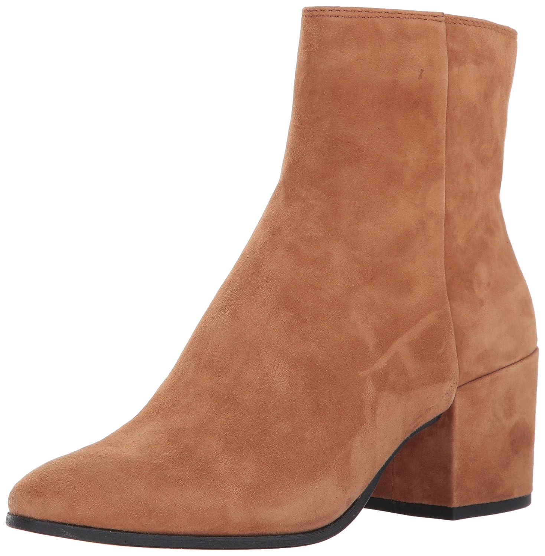 Dolce Vita Women's Maude Ankle Boot B072QBLQ78 9 B(M) US|Dark Saddle Suede