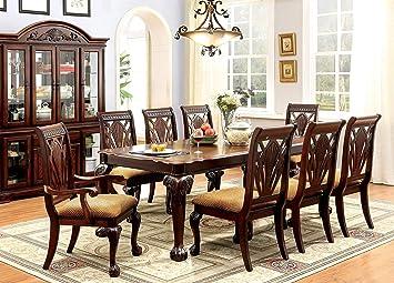 247SHOPATHOME dining-room-sets, 9-Piece Set, 9-Piece Set
