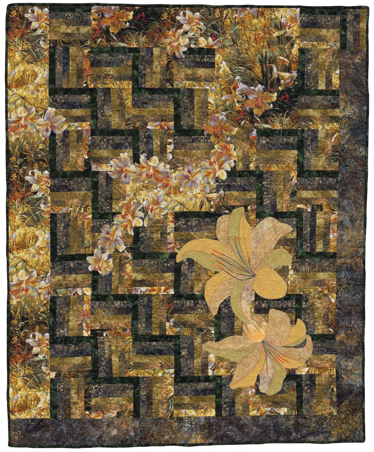Big Print Patchwork Quilt Patterns For Large Scale Prints Sandy
