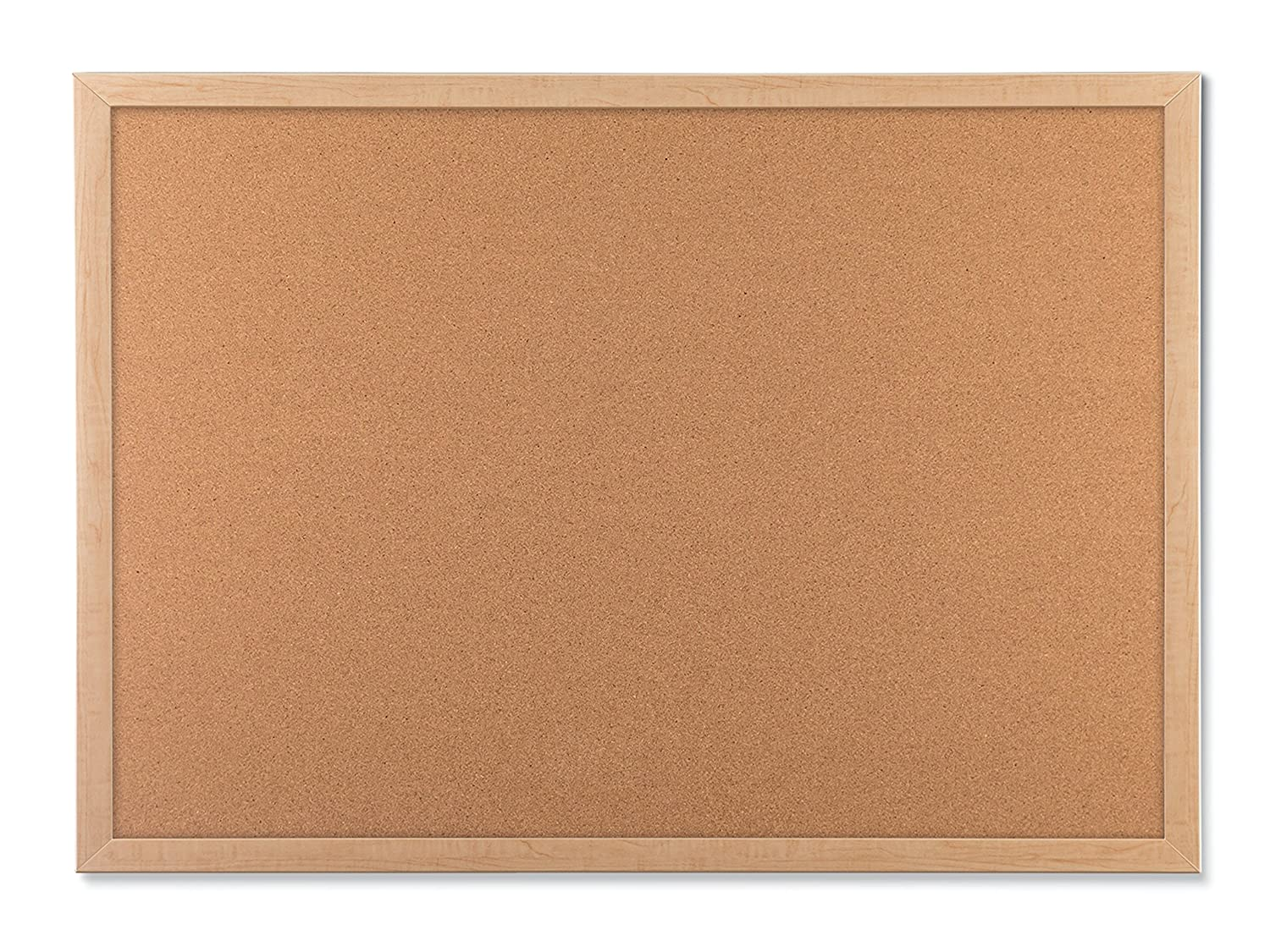 Cork Bulletin Board Amazoncom U Brands Cork Bulletin Board 23 X 17 Inches Light