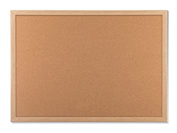Amazoncom U Brands Cork Bulletin Board 23 X 17 Inches Light