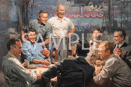 Republican presidents playing poker picture geant casino valentine centre commercial