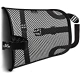 BOD Lumbar Mesh Back Support - Bring Comfort to an Office Chair, Car, and Truck Seat Lower Back Pain Relief Behind Your…