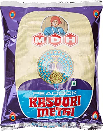 MDH Powder, Peacock Kasoori Methi, 50g Pouch